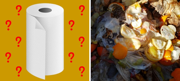 Can You Compost Paper Towels?